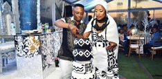 DJ Tira and his long time beau, Gugu Mbambo married in a traditional ceremony. See photos from the beautiful day. African Wedding Attire, African Attire, African Weddings, African Traditional Wedding, Traditional Wedding Cakes, African Goddess, Xhosa, African Print Fashion, Buzzfeed