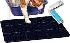 Kitty Clean Mat |  1140+ As Seen on TV Items: http://TVStuffReviews.com/kitty-clean-mat