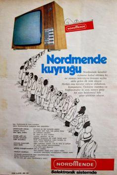 OĞUZ TOPOĞLU : nordmende televizyon 1975 nostaljik eski reklamlar...