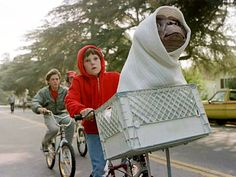 "On my list of summer films :) And one of my favorite films of all-time. Steven Spielberg's ""E.T."""