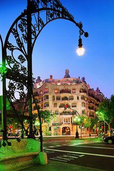 Casa Mila ~ Barcelona, Spain