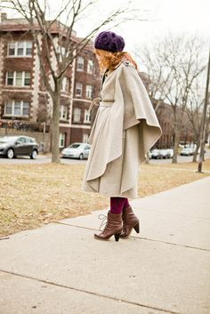 that coat!  by L'AVENIR