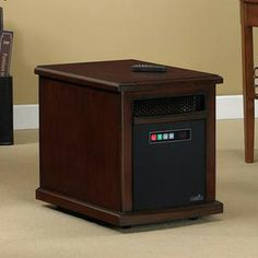 The Colby Infrared Heater provides portable, instant heat for up 1,000 sq ft! A thoughtful present for chilly homes.  http://www.electricfireplacesdirect.com/products-accessories/Colby-Portable-Infrared-Heater-10HM1342