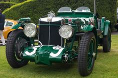 Una real oportunidad de admirar un vehículo fabuloso. Saludemos al MG Magnette K3 1933 #MásQuePasión