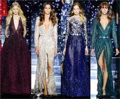 No blog tem as principais fotos, looks e detalhes do desfile de alta costura 2015 do estilista libanês Zuhair Murad. O tema era celeste e o vestidos estavam um deslumbre.