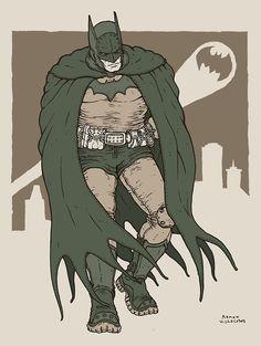 Batman by artist Ramon Villalobos Im Batman, Superman, Batman Stuff, Nightwing, Batgirl, Ramones, Comic Books Art, Comic Art, Batman Drawing
