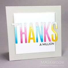 Here's my card for Jenni's final challenge at Muse . She gave us this inspiration: But, really, I feel like I should be thanking her...