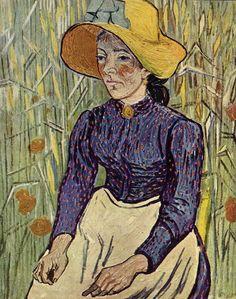 Boerenmeisje met gele strohoed - Wikipedia