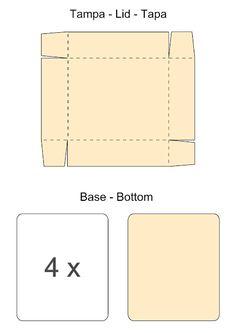 Pink & Fun: DIY   Tutorial - Caixa para Chá - Tea Bag Dispenser Box