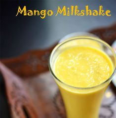 Mango Shake or Mango Milkshake is delicious mango smoothie popular during mango season. how to make mango milkshake. Summer Recipes