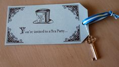 free printable alice in wonderland tea party invitations - Google Search