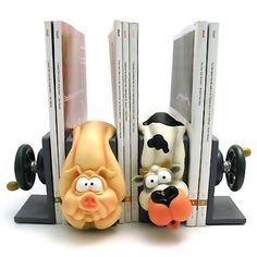 20 Creative and Cool Bookends (20) 6