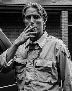 Mads Mikkelsen, John Bernthal, Smoking Is Bad, Nikolaj Coster Waldau, Hannibal Lecter, Dr Hannibal, Hannibal Funny, Hugh Dancy, Gary Oldman