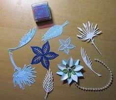 CorryB Kaartengalerij December 2014, Big Shot, Van, Tutorials, Snow, Cards, Poinsettia Cards, Card Crafts, Maps