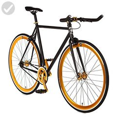 """Blackout Single Speed Fixed Gear Road Bike Size: Medium 56cm - 5'7"""" to 5'11"""" - Useful things for bikers (*Amazon Partner-Link)"""