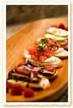 Tapena wines from Spain - Spanish food recipes - Toast with Steak recipe