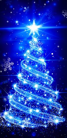 By Artist Unknown. Not merely solemnly, even wise is likely to be there for Christmas. Because also the light string is - Christmas Christmas Lights Background, Christmas Lights Wallpaper, Christmas Scenery, Xmas Wallpaper, Christmas Phone Wallpaper, Beautiful Christmas Trees, Christmas Pictures, Wallpaper Backgrounds, Blue Christmas Lights