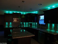 under counter cabinet accent light kit 18 leds 6 modules cabinet accent lighting
