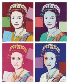 Queen Elizabeth II, from: Reigning Queens by Andy Warhol