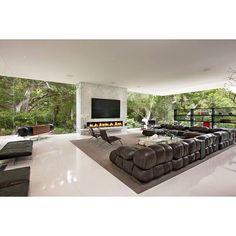 Living room, the Glass Pavilion. #home #family #architecture #residence #steveHermann #2010 #SantaBarbara #California #montecito #living #lifestyle #nature #love #glassPavilion #house #livingroom #interior #design #modern #minimalistic #contemporary