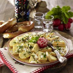 Saurer Käse (Eingelegter Romadur) Rezept