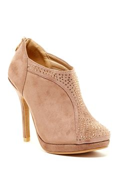 Elegant Footwear Tiana Studded Bootie by Elegant Footwear on @HauteLook