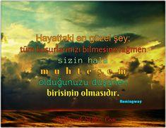 Hemingway sözleri