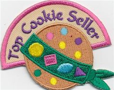 Top Cookie Seller Patch - shopgsewnicom