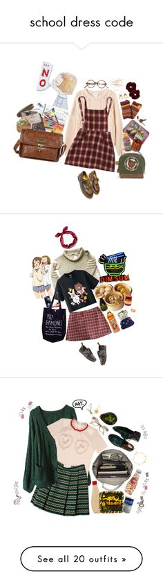 """""""school dress code"""" by tokyo-mewmew ❤ liked on Polyvore"""