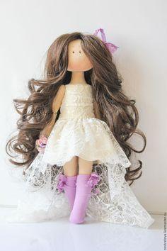 Купить Невеста. Интерьерная кукла. - белый, подарок на свадьбу, свадебный подарок, wedding, doll