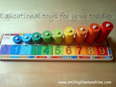 Educational toys my toddler loves