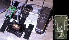 Stevie Ray Vaughan's pedal board