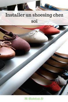 Voici quelques #conseils pour entreposer de façon pratique des dizaines et des dizaines de paires de #chaussures chez soi, dans un minimum d'espace… #shoesing