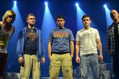 Celtic Thunder. So let's talk about Ryan wearing that K.I.S.S. t-shirt and Neil wearing that Superman shirt