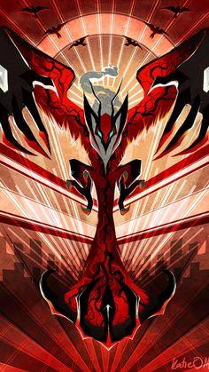 Yveltak, the dark flying dual type legendary