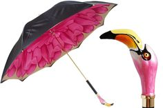 Pasotti Flamingo Umbrella - Viola Umbrella