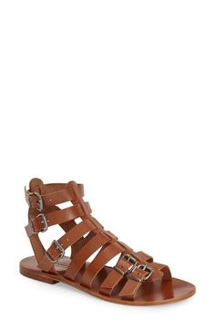 Topshop 'Favorite' Flat Gladiator Sandal (Women)   Nordstrom