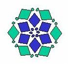 Free Pattern - Polygons.  Here's a diagram and two ways to weave a flat polygon or wheel.