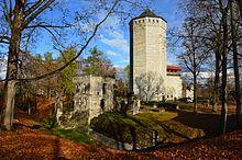 Teutonic Order castle in Paide, Estonia.