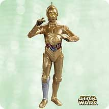 Now C3PO gets a turn for a solo ornament in the official Star Wars series.
