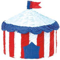Pinata chapiteau de cirque pour l'anniversaire de votre enfant - Annikids