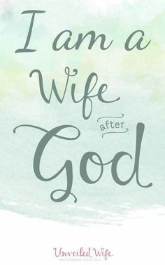 A wife of god..
