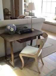 Giannetti Home: Patina Farm Klismos chair and Italian table Home Office Inspiration, Interior Inspiration, Patina Farm, Italian Table, Living Spaces, Living Room, Love Your Home, Interior Decorating, Interior Design