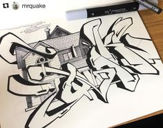 #indahouse with @mrquake thank you for using #graphmastermarker