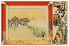 75.2099: Rome & San Angelo | play set | paper toy | Play Sets | Toys | Online Collections | The Strong