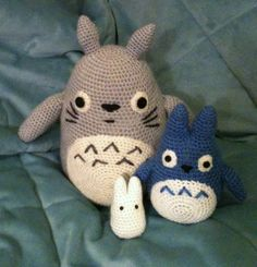 Totoro amigurumi!