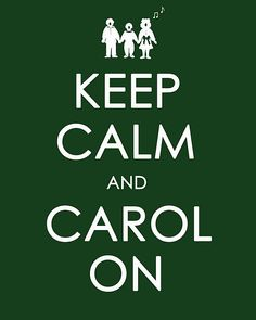 christmas printable {Oh my goodness, my family needs this framed or on the front door or something. ;) Lol! We love to go caroling! :D}