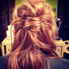 Lovely formal style. Master Stylist Cherie Cozadd. 269-697-5414. #purerituals