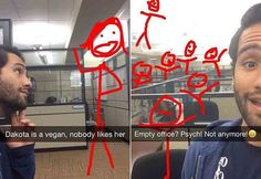 This Guy's Hilarious Snapchats Define Office Boredom