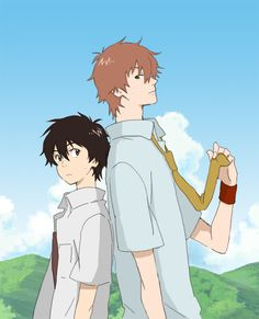 Summer WarsxThe Girl Who Leapt Through Time